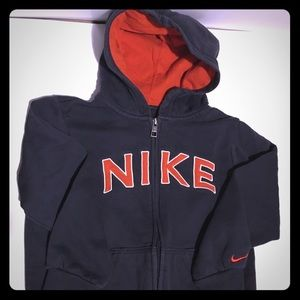 Nike Size 7 Youth Zip Up